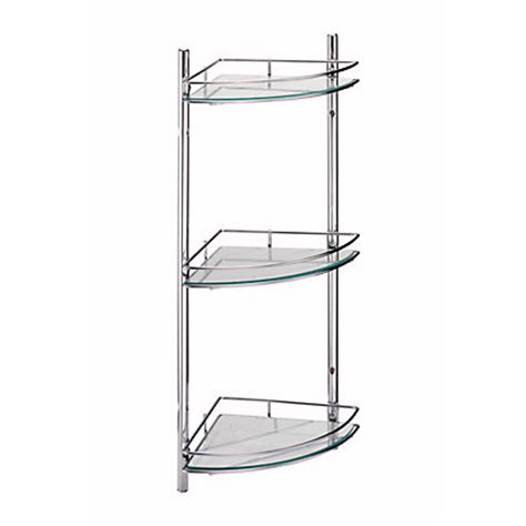 Bathroom Corner Shelf Unit Wall Mounted Bathroom Corner Shelving