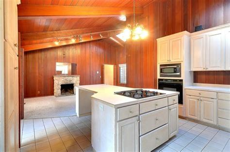 how to update wood paneling wood paneling update ideas