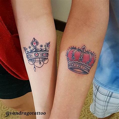 king and queen tattoo vorlagen 40 king queen tattoos that will instantly make your