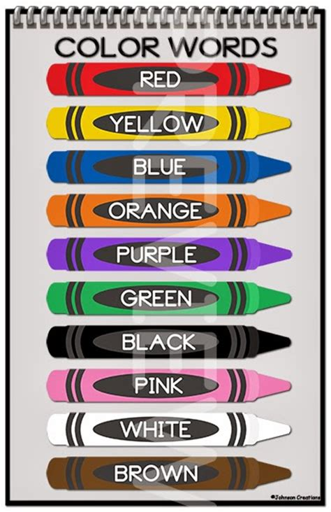 color posters colors poster for classroom test aacps