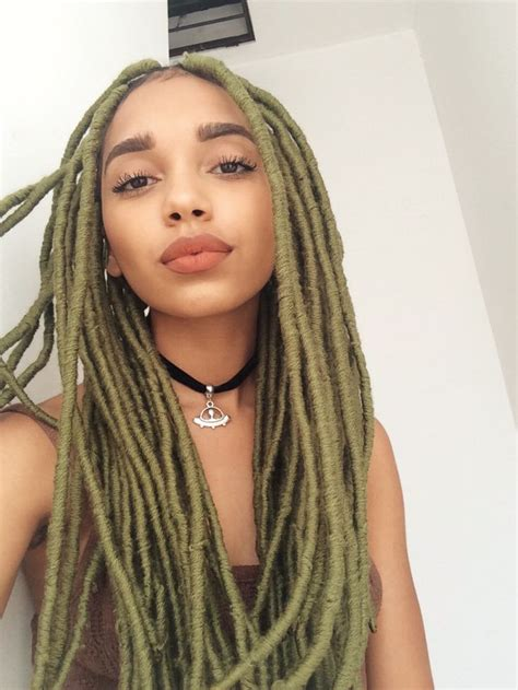 what hair to use for faux locks the 25 best faux dreads ideas on pinterest faux locs