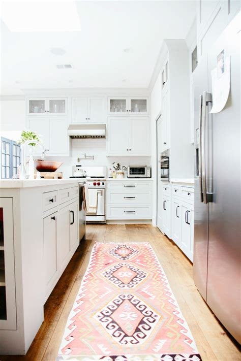 Kilim Kitchen Rug Vintage Kilim Turkish Rugs In The Kitchen Home Decor Glitter Inc Glitter Inc