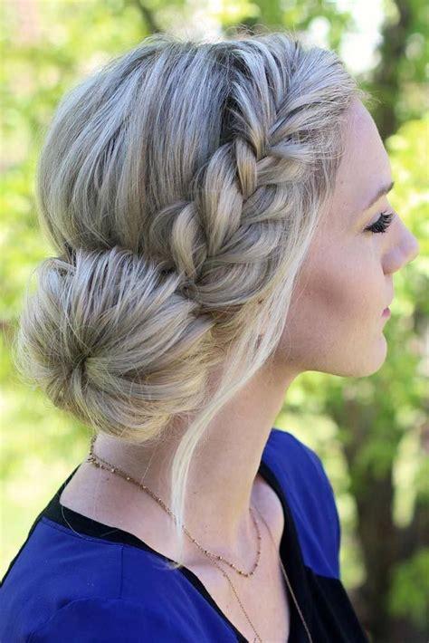 hoco hairstyles for short hair 15 peinados con trenzas que puedes lucir esta navidad