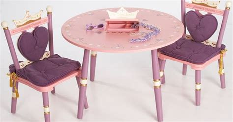Child Bedroom diy princess table and chairs google search girly