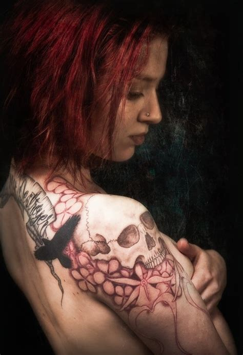 skull tattoo designs for women 50 cool skull tattoos designs pretty designs