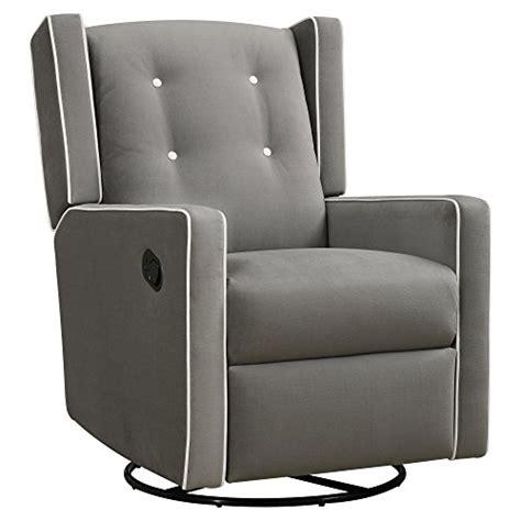 dorel living padded rocker recliner dorel living baby relax mikayla upholstered swivel gliding