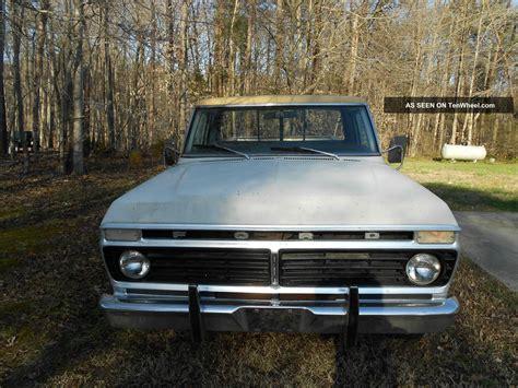 1975 ford f100 ranger 1975 ford f100 ranger xlt longbed paint 390 engine