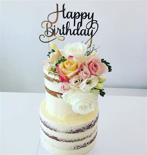 Birthday Cake Toppers by Happy Birthday Cake Topper Diy By Renee Madeit