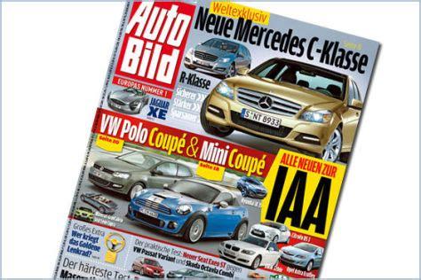 Autobild Inserate by Neue Mercedes C Klasse Autobild De