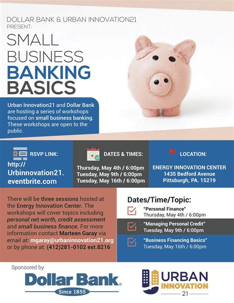 Small Business Banker by Small Business Banking Basics Series Tickets Dates Eventbrite