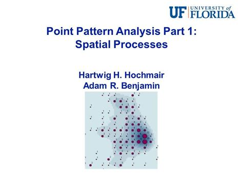 Point Pattern Analysis Exle | point pattern analysis part 1 spatial processes youtube