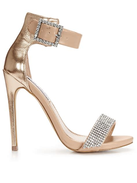 steve madden embellished sandals steve madden marlen embellished two part sandals in gold