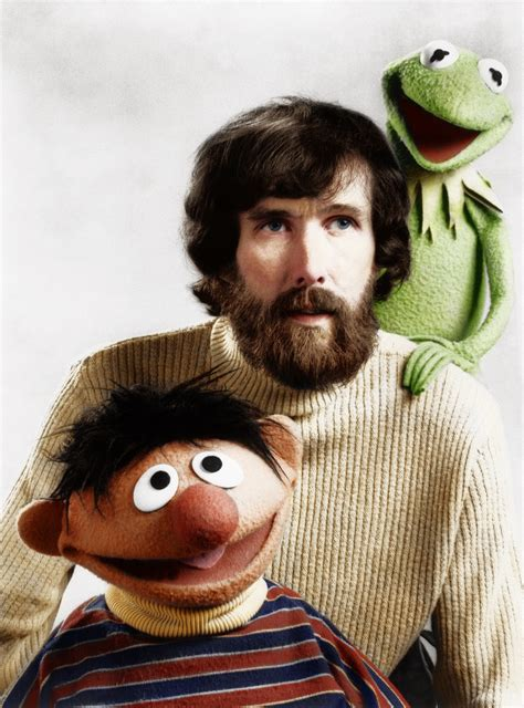 jim henson jim henson together with ernie and kermit the frog by