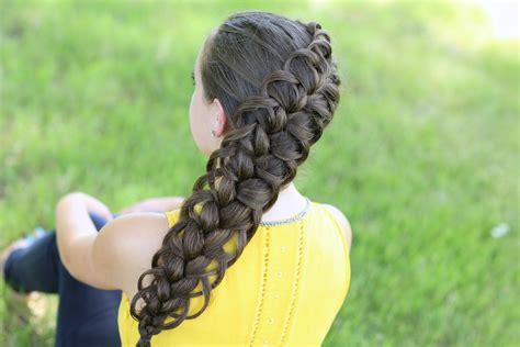 how to do hard hairstyles diagonal french loop braid cute braid hairstyles cute