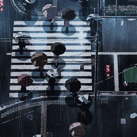 anime gif rain raindrops gif tumblr