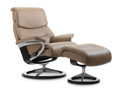 stressless leather recliners stressless capri recliner in paloma leather color funghi