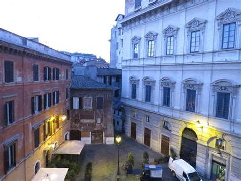 hotel co de fiori rome italy view from our room of piazza biscione picture of