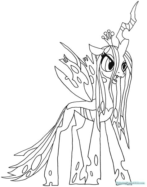coloring page nightmare moon my little pony friendship is magic coloring pages