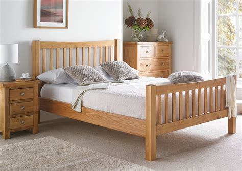 Oak Bed by Dorset Oak Bed Frame Light Wood Wooden Beds Beds