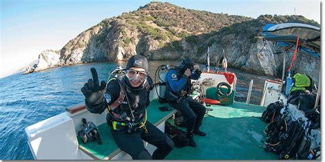 scuba dive trips channel islands scuba diving trip
