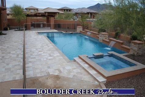 backyard pools and spas before and after boulder creek pools and spas