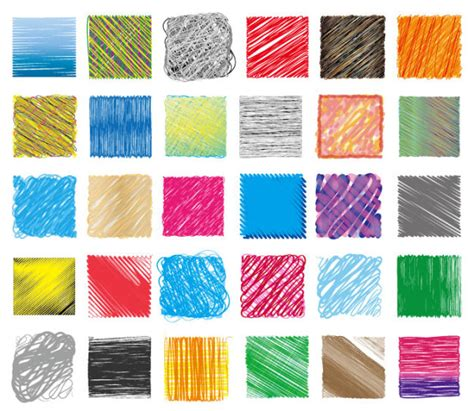 photoshop pattern pencil hand drawn colorful pencil pattern vector 02 vector