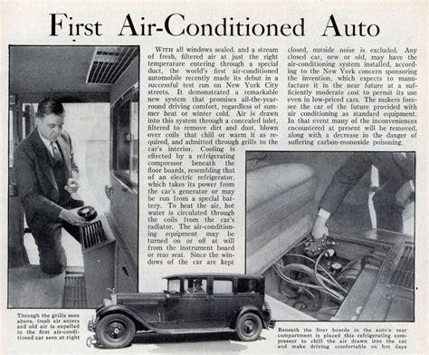 Remotremote Ac York Orioriginalasli cold comfort history of automotive air conditioning part 1 pre world war ii
