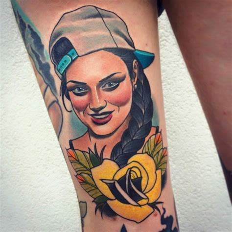 tatuajes originales dise 241 o neo tradicional con detalles