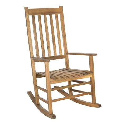 front porch rocking chairs lowes safavieh pat7002 shasta rocking chair lowe s canada
