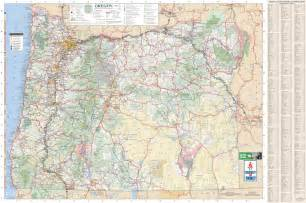 oregon map large detailed tourist map of oregon with cities and towns
