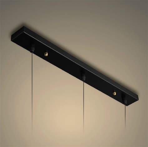 rectangular ceiling plate