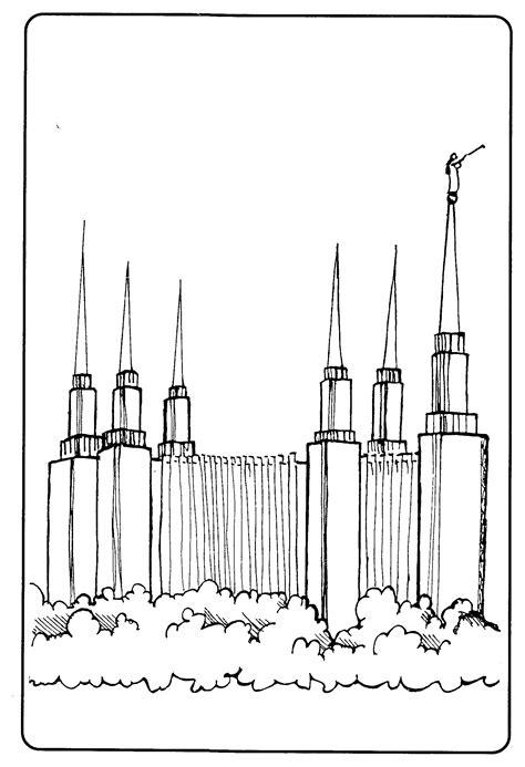 washington dc temple coloring page washington dc