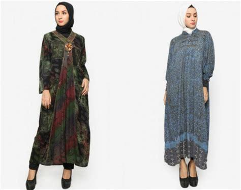 Batik Muslim 32 model baju batik muslim modern terbaru co id