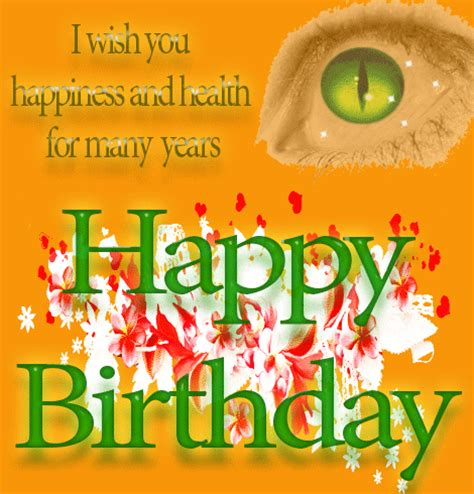 Happy Birthday Wish You Health And Happiness Happy Greetings Congrats April 2015