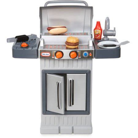 Tikes Play Kitchen And Grill by Tikes Cook N Grow Bbq Grill Walmart