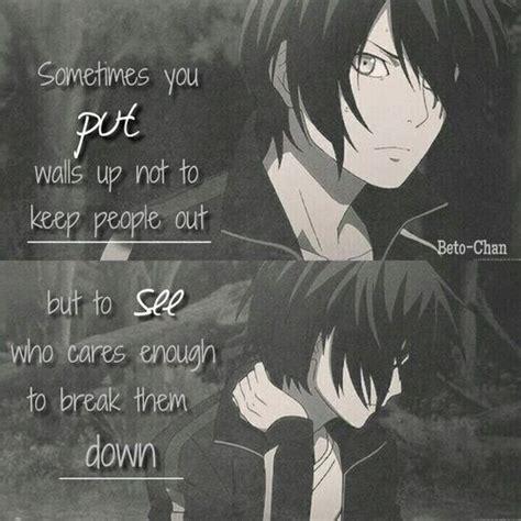 best 25 sad anime quotes ideas on pinterest sad anime