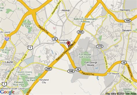 maryland map fort meade courtyard by marriott fort meade at national business park