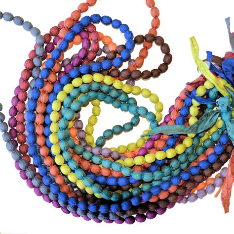 silk covered bead necklace the elephant story