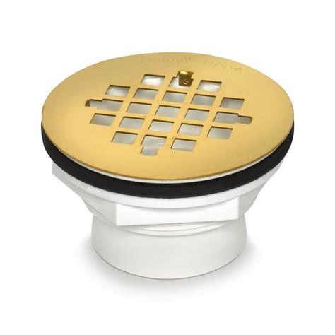 Oatey Shower Drains by Oatey 2 In Pvc Shower Base Drain In White 42078 The