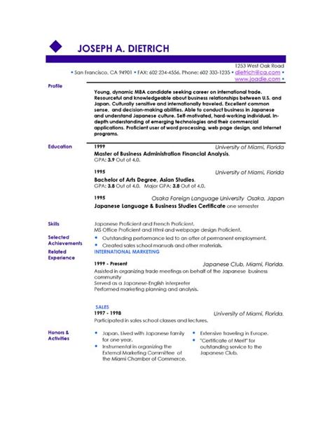Download Sample Resumes – Free Resume Samples Download   Sample Resumes