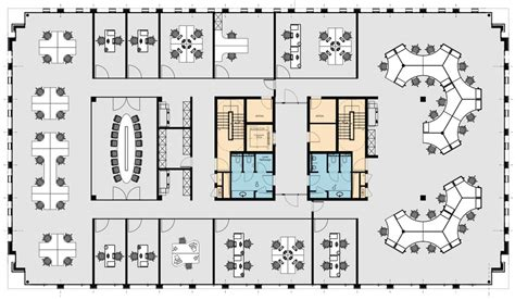 open office floor plan layout open plan office floor plans home deco plans