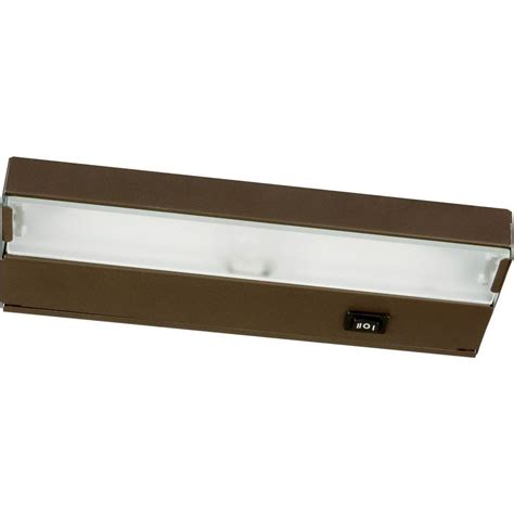 under counter lighting lowes nicor slim 30 in oil rubbed bronze dimmable led under