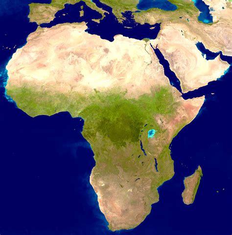 image of africa map large detailed satellite map of africa africa large