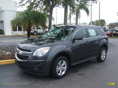 Gray Ls by 2011 Chevrolet Equinox Ls In Cyber Gray Metallic 206146