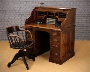 vintage small roll top desk small oak roll top desk c 1920 antiques atlas