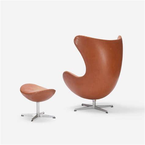 egg chair and ottoman egg chair and ottoman by arne jacobsen for fritz hansen
