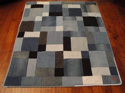 Denim Patchwork Quilt - denim patchwork quilt