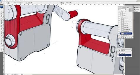 sketchbook rendering tutorial sketch rendering tutorial page 2 tutorials product