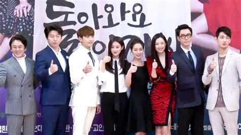 come back mister bioskop keren production press conference full cast photo time 돌아와요