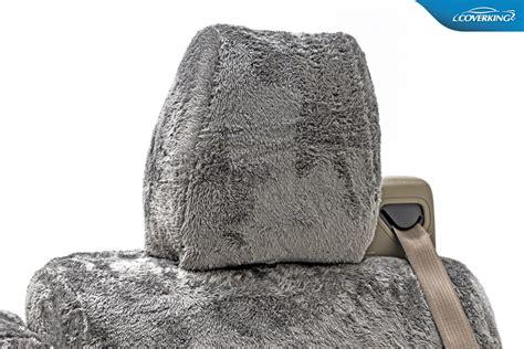plush seat covers coverking snuggle plush micro fiber seat covers free